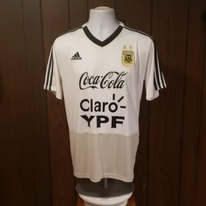 Argentina training shirt all officials sponsor's